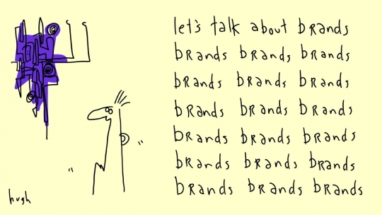 Brands by @gapingvoid