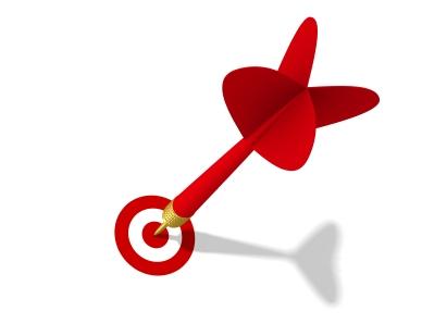 dart targeting image