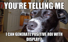 Display advertising skepticism