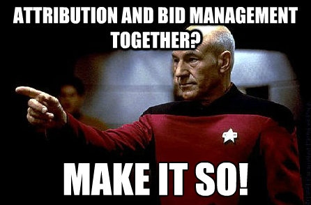 Attribution and bid management PPC