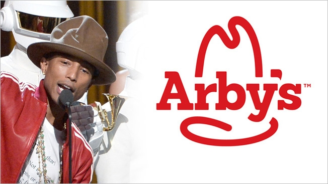 arbys-pharrell hat