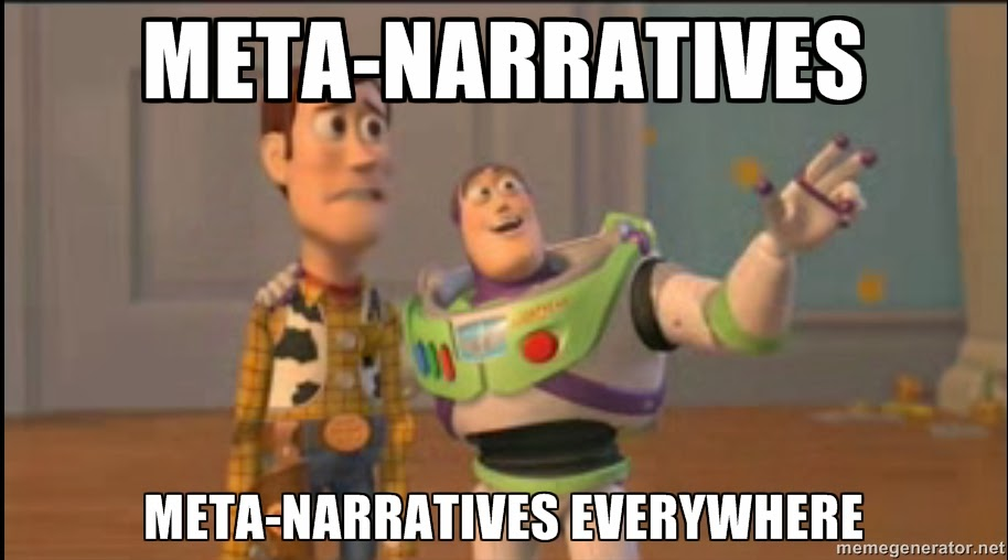 meta-narrative meme