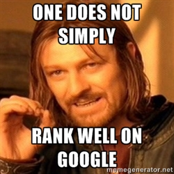google rank meme