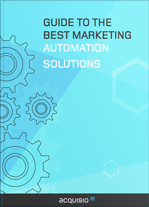 eBook Cover: Guide to the Best Marketing Automation Solutions