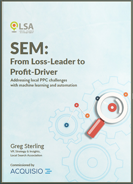 eBook Cover: SEM From Loss-Leader to Profit Driver