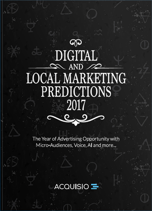 eBook Cover: Digital and Local Marketing Predictions 2017