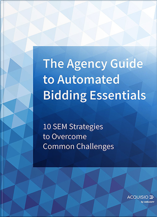eBook Cover: The Agency Guide to Automated Bidding Essential