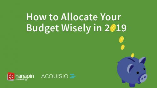 How to allocate your budget wisely in 2019