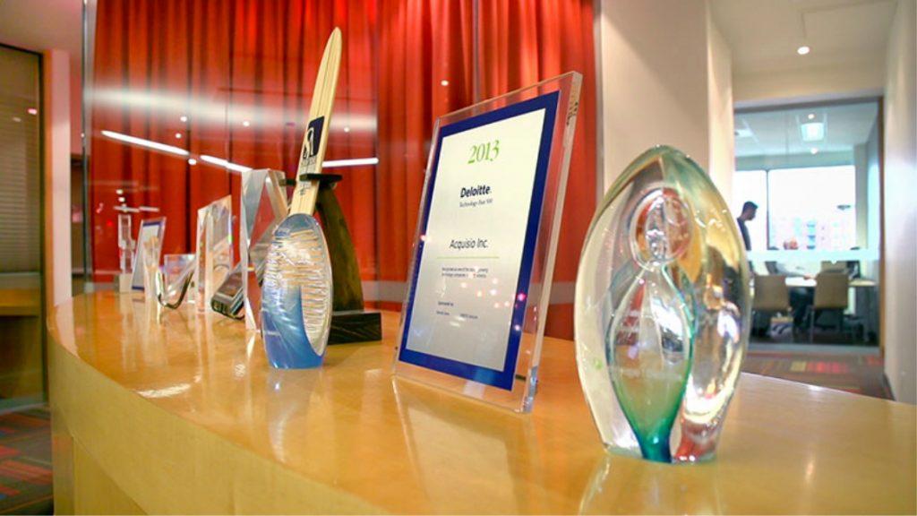 Awards display