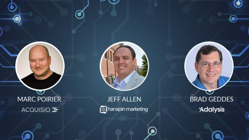Webinar presented by Marc Poirier, Jeff Allen and Brad Geddes