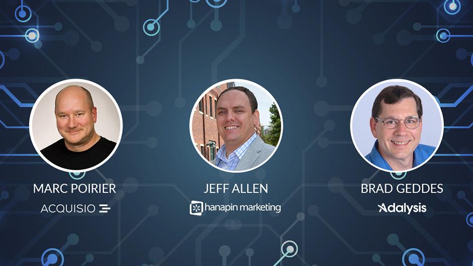Webinar presented by Marc Poirier, Jeff Allen and Brad Geddes