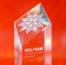 Most Innovative of 2016 award - Wolfram Research