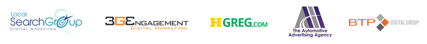 Local SearchGroup, 3GEngagement, HGregoire, BTP Digital Group, The Automotive Advertising Agency